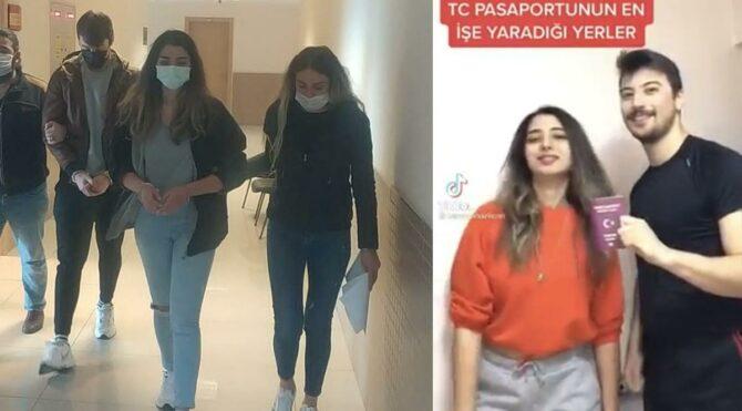 Tiktok'ta Türk pasaportunu aşağılayıp ,Vatanını ve milletini seven insanlarız açıklaması yaptılar