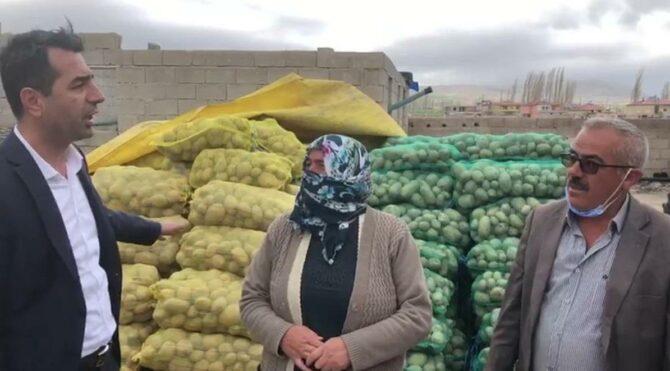 """""""Torpili olanın patateslerini 1 günde alıyorlar, oy vermeyense böyle kaldı''"""