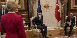"""Von der Leyen'den 'koltuk krizi' açıklaması: """"Bir daha asla böyle bir duruma izin vermeyeceğim''"""