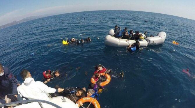 Yunan sahil güvenlik unsurları göçmenleri dövüp botlarını patlattı