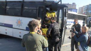 1 Mayıs işçi bayramı nedeniyle Taksim'e yürümek isteyen gruplar gözaltına alındı