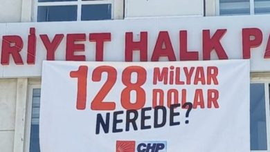 '128 milyar nerede?' afişine el koyma kararı kaldırıldı