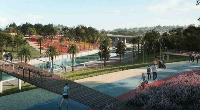 Adıyaman'a, 90 milyonluk liraya 'Millet Bahçesi'
