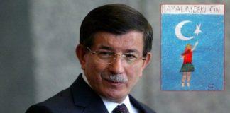 Ahmet Davutoğlu'ndan Milli Eğitim'e resimli tepki
