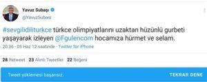 AKP Balıkesir Milletvekili Yavuz Subaşı'nın FETÖ'ye dair Twitter mesajları ortaya çıktı.