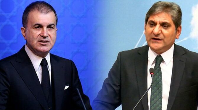 AKP sözcüsü Ömer Çelik'in ifadelerine CHP'li Aykut Erdoğdu'dan yanıt