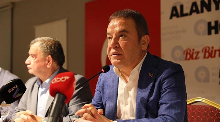 Antalya Büyükşehir Belediye Başkanı Böcek, Alkol yasağına karşı çıktı: Turizm şehriyiz