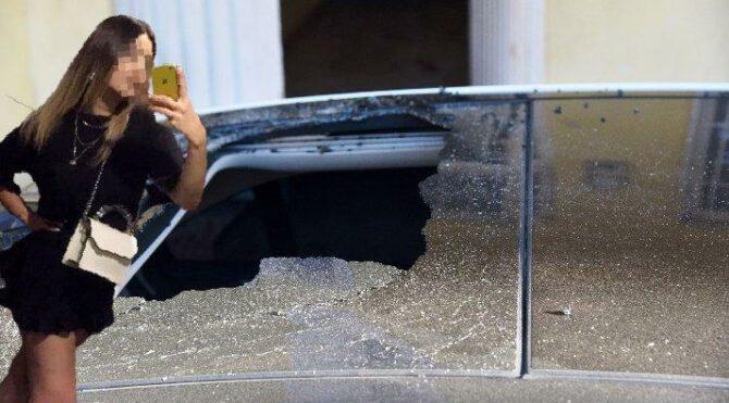 Antalya'da bir erkek kız arkadaşını camdan attı