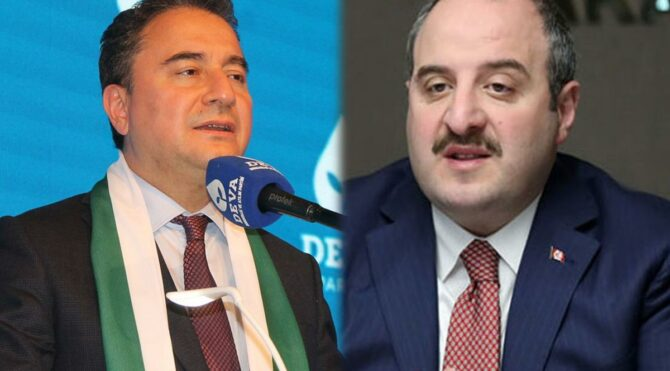 Bakan Varank'tan Ali Babacan'a 'fren Ali' yanıtı:Ben bile kanabilirdim