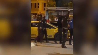 Beşiktaşlı taraftarların şampiyonluk kutlamasına müdahale: Bekçiler havaya ateş açtı