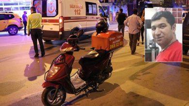 Bir 'moto kurye' daha trafik kazasında yaşamını yitirdi