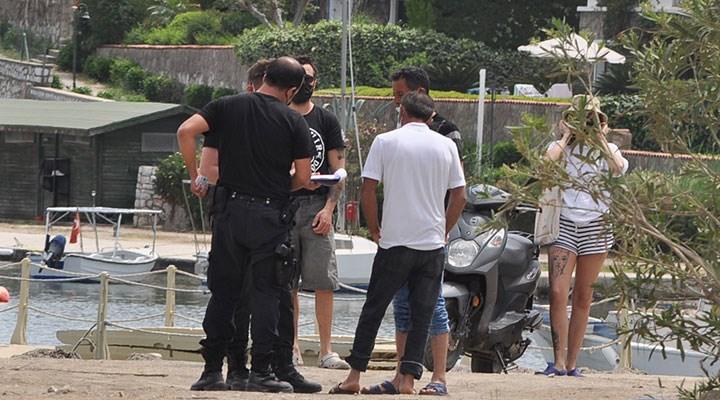 Bodrum plajlarında kısıtlamaya uymayanlara ceza kesildi