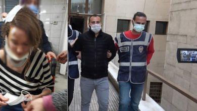Bursa'da 'birisine benzettiği' genç kadına muştayla saldıran şahıs serbest bırakıldı