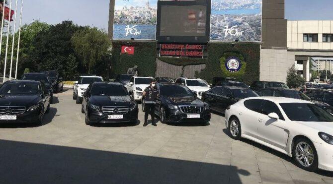 Çalıntı Lüks otomobil kaçakçılığı operasyonu: 24 araç ele geçirildi