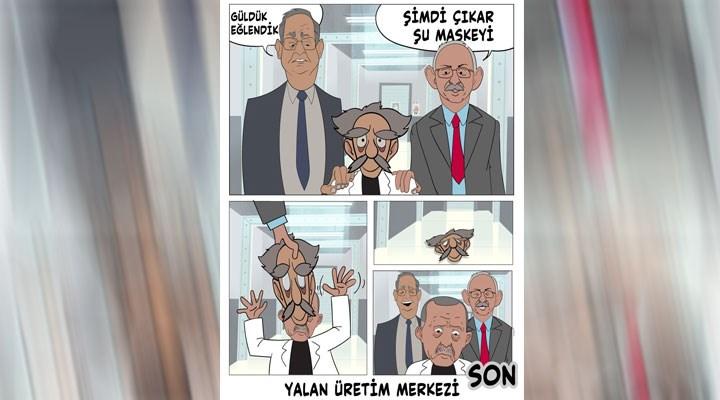 CHP'den AKP'ye karikatürlü yanıt: Haydi çıkar maskeni