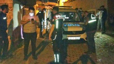 Edirne'de polis aracına saldırı