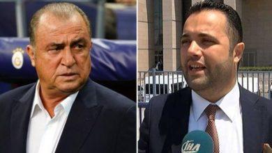 Galatasaray Teknik Direktörü Fatih Terim'in avukatı Dr. Rezan Epözdemir, istifa etti.