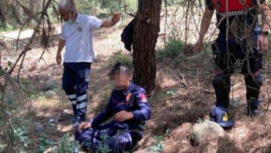 İntihara kalkışan itfaiyeciyi ipten Jandarma teğmen kurtardı