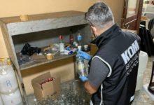 İstanbul Başakşehir'de 2 ton 162 litre sahte içki ele geçirildi