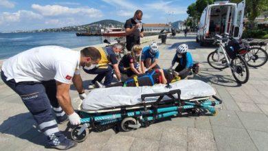 İstanbul'un ilk bisiklet ambulansları Adalara'da hizmet vermeye başladı
