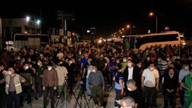 Kısıtlamaya rağmen birçok ilde İsrail protesto edildi