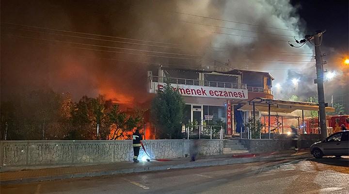 Konya'da bir lokantada nedeni bilinmeyen patlama