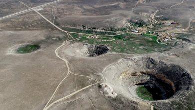 Konya Karapınar'da 65 metre derinliğinde yeni bir obruk meydana geldi