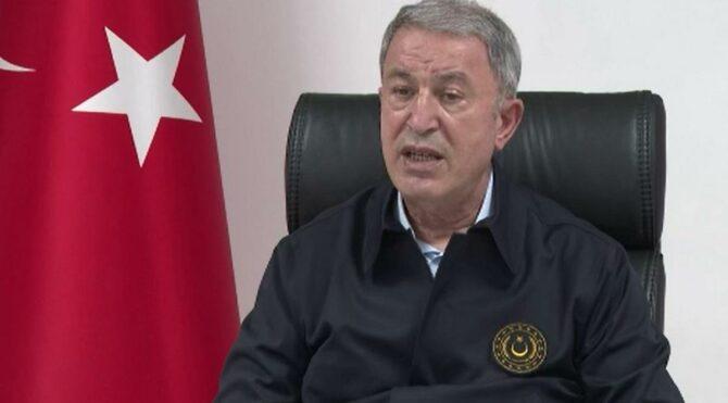 Milli Savunma Bakanı Hulusi Akar: 1 milyondan fazla Suriyeli evine döndü