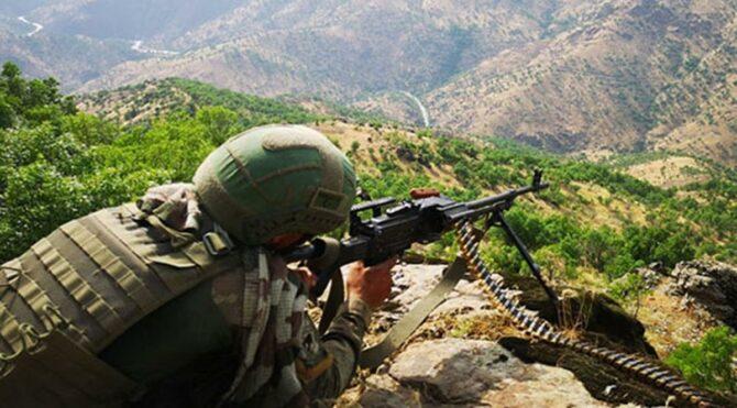 MSB :Saldırı hazırlığındaki 3 terörist etkisiz hale getirildi