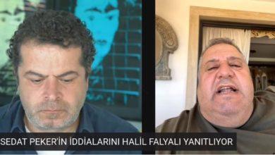 Sedat Peker'in hedef gösterdiği Halil Falyalı'dan açıklama