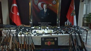 Silah ticareti yapan örgüte 8 ilde 67 adrese eş zamanlı operasyon: 49 gözaltı