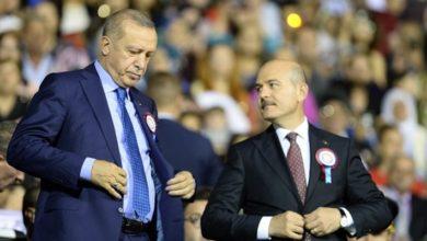 Soylu'dan Erdoğan'a sadakat açıklaması:''emrinde olduk, emrindeyiz, emrinde olacağız..''