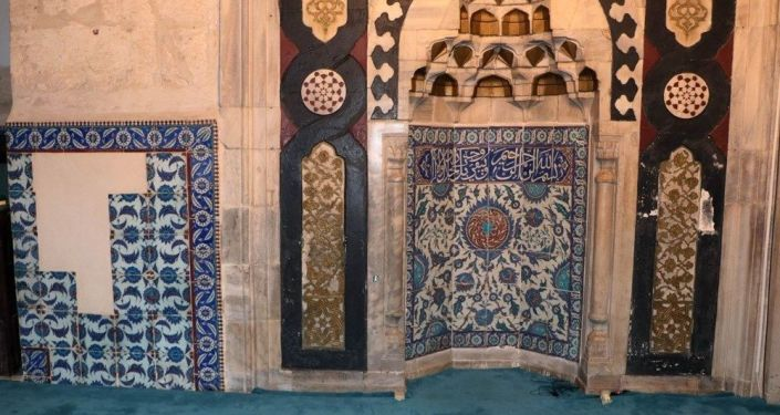 Adana Ulu Camii'nin çinileri Hollanda'da ortaya çıktı: Etnografya Müzesi'ne getirildi