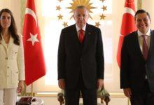 AKP'li Sadi Bilgiç'in kızı ile Martı'nın CEO'su evlendi, nikah öncesinde Erdoğan ziyaret edildi