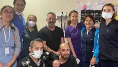 """Cem Yılmaz'dan 'aşı' paylaşımı: ''Sağlık personeline can feda"""""""