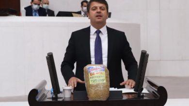 CHP'li vekil Tutdere'den tütüne hapis cezasına tepki: Kürsüye koyduğum pudra şekeri değil