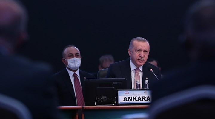 Cumhurbaşkanı Erdoğan'dan AB'ye: Tam üyelik mücadelemizin artık neticelenmesini istiyoruz