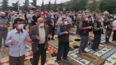 Denizli'de bin 500 kişilik yağmur duası: Takdir Allah'tan, destek devletten