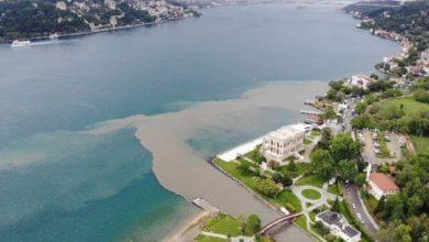 İstanbul Boğazı derelerden gelen çamura bulandı