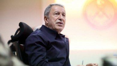 Milli Savunma Bakanı Hulusi Akar : Fitne peşinde koşan ordubozanlar var
