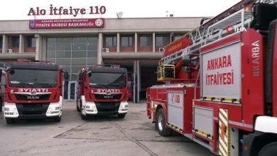 Ankara'da yangın söndürme sonrası hastaneye kaldırılan itfaiye eri yaşamını yitirdi