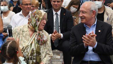 CHP lideri Kılıçdaroğlu, Kıymet Teyze ile birlikte park açtı