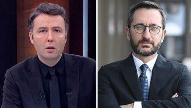 """Habertürk sunucusu Mehmet Akif Ersoy, """"Fahrettin Altun'un bu paylaşımını ben de kınıyorum"""""""