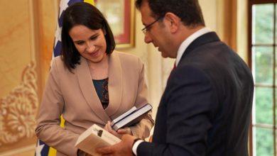 İBB Başkanı Ekrem İmamoğlu, Saraybosna Belediye Başkanı Karic'i Beyaz Köşk'te misafir etti