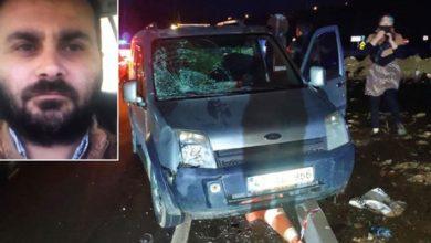 Kaza yerini inceleyen polis memuru, hafif ticari aracın çarpması sonucu hayatını kaybetti