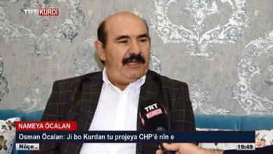 Osman Öcalan felç geçirdi ve hareket kabiliyetini yitirdi