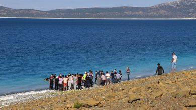 Salda Gölü'nde 15 yaşındaki Mehmet Yayla adlı bir çocuk boğuldu