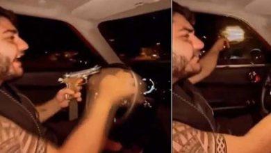 Silahla ateş ederken görüntüleri çıkan Murat Övüç'ün oğlu gözaltına alındı,Adliye'de serbest bırakıldı