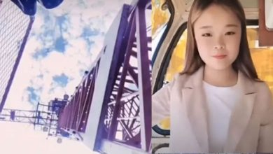 Sosyal medya fenomeni, video çekerken 50 metrelik vinçten düştü