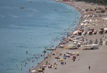 Antalya'da nem oranı ilk kez yüzde 5'e düştü